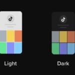 tiktok dark mode