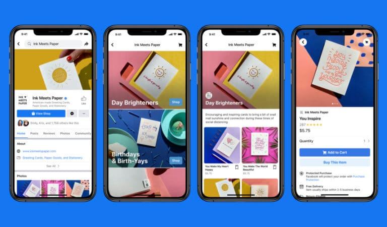 Facebook объявляет о запуске «Магазинов» для Facebook и Instagram